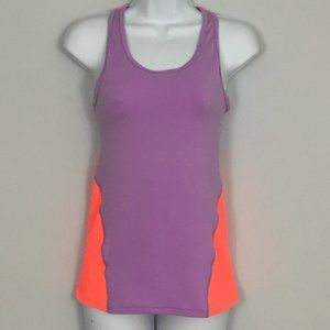 GapFit Womens XS Purple & Pink Racerback Tank Top